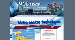 Preview of mcdesign-caravaning.be