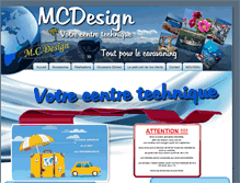 Tablet Preview of mcdesign-caravaning.be